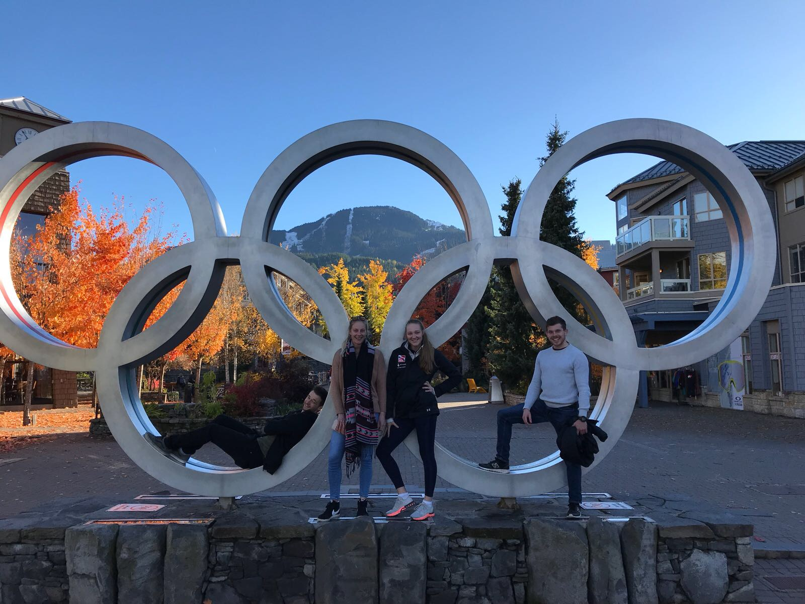 My first time … Whistler